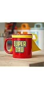 hero;mugs;cup;tasse;cuisine;family;collection;creative;cadeau;multicolore;héro;super;dad;père;papa