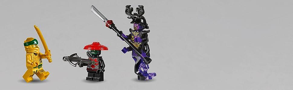 Action-packed ninja dragon playset