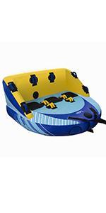 Amazon.com: Sable - Aro hinchable de baloncesto con una ...