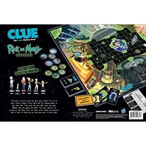 CLUE: Rick And Morty board game