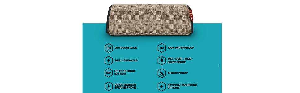 waterproof bluetooth speaker fugoo style s