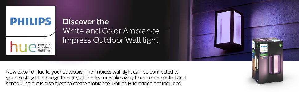 Impress Hue Wall Lantern