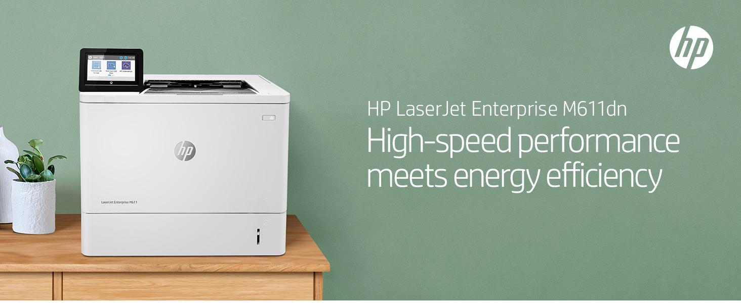 laserjet enterprise m611 performance energy efficiency