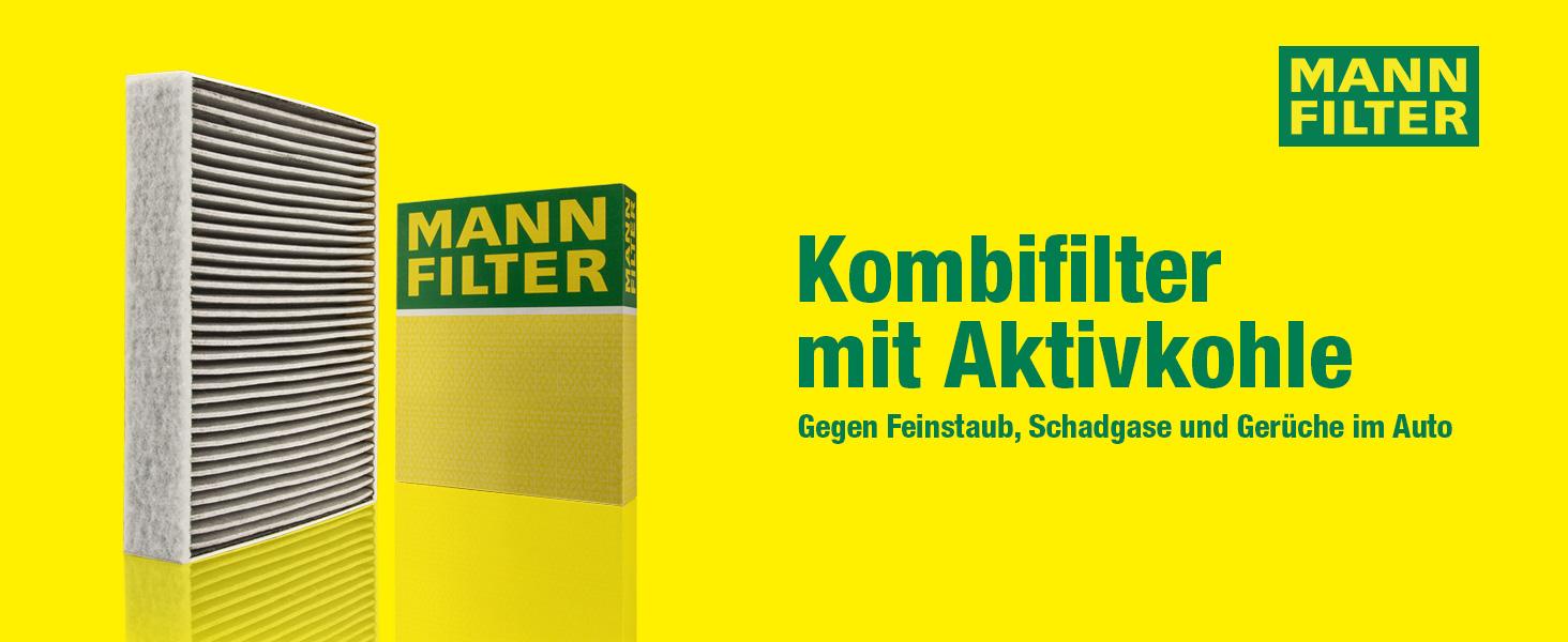 Original Mann Filter Innenraumfilter Cuk 24 013 Pollenfilter Mit Aktivkohle Für Pkw Auto