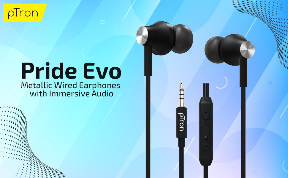 Pride Evo wired headphones