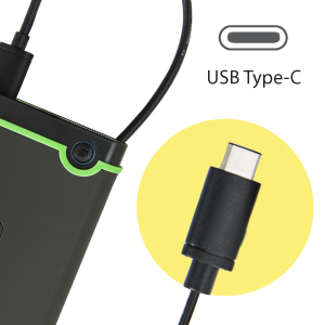 Reversible USB Type-C connector