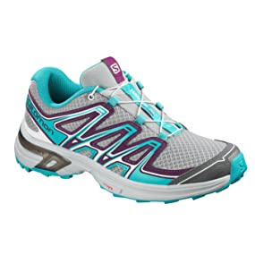 Salomon Wings Flyte 2, Calzado de Trail Running para Mujer, Gris (Quarry/Dark Purple/Blue Bird), 43 1/3 EU: Amazon.es: Zapatos y complementos