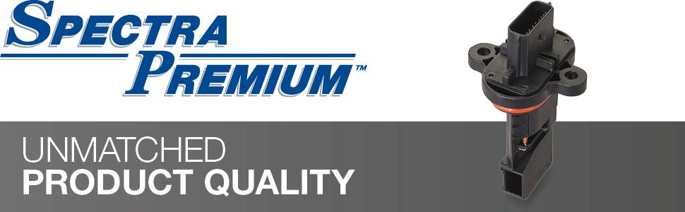 spectra premium, unmatched product quality, maf, mass air flow sensor, airflow sensor
