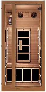 infrared sauna detox detoxification home sauna hemlock wood