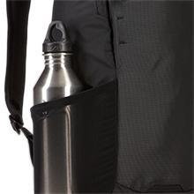 Thule backpack, Thule daypack, water bottle storage, expandable pocket, water bottle pocket, mesh