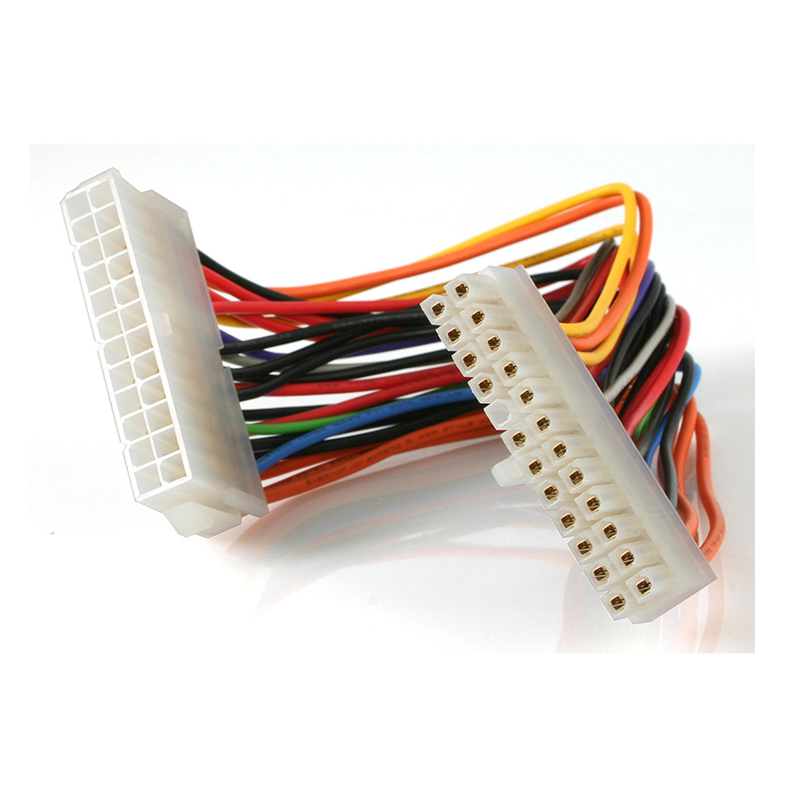 Startech 8 Inch 24 Pin Atx 201 Power Extension Cable Wire Harness From The Manufacturer