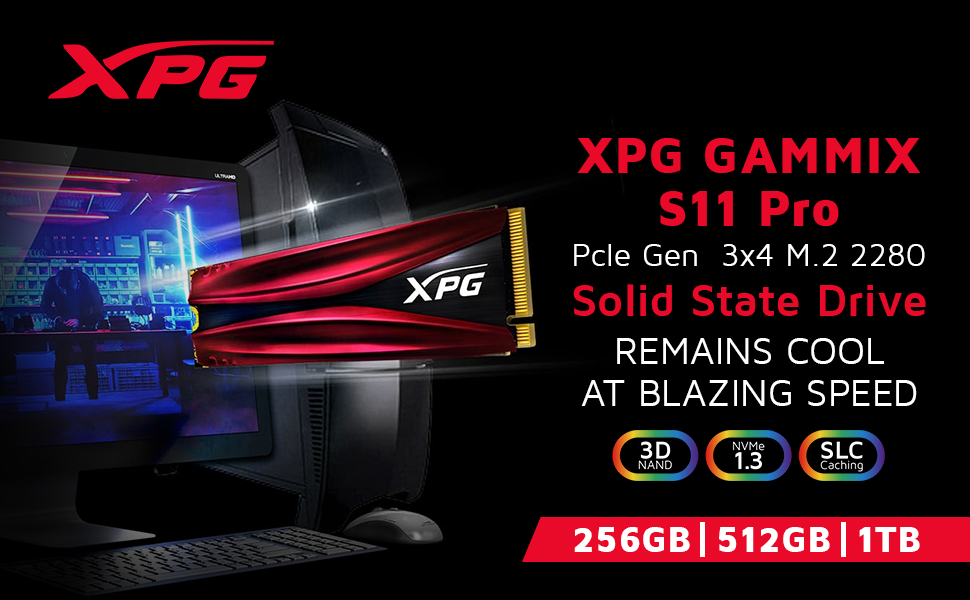 A-DATA XPG GAMMIX S11 Pro  PCIe  SPN-FOR1