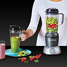 NutriBullet Select 1200 With Pitcher Cold Drinks Milkshakes Smoothies