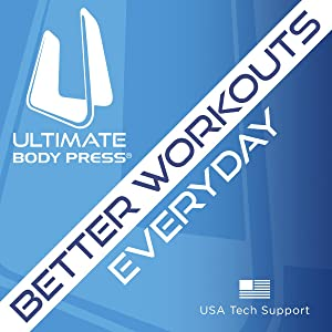 Ultimate Body Press Wall Mount Pull Up Bar With Four Grip