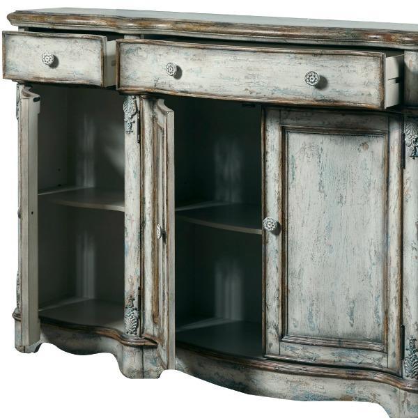 Amazon com Pulaski Rustic Vintage Credenza Buffets& Sideboards