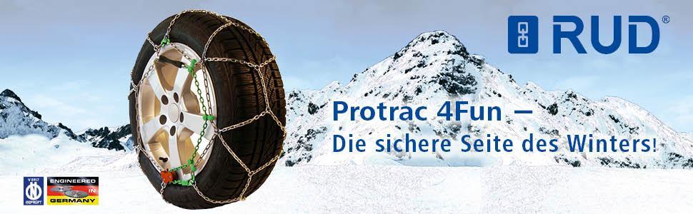 3.1 mm Gr 1 Paar 50 Protrac 4FUN Schneeketten Art. 4717743