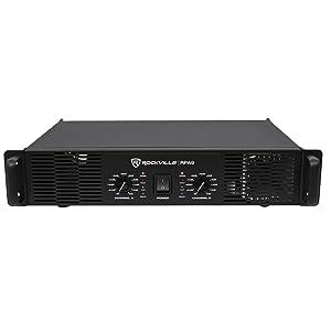 f887e6fca2 Rockville RPA9 3000 Watt Peak   800w RMS 2 Channel Power Amplifier Pro DJ  Amp