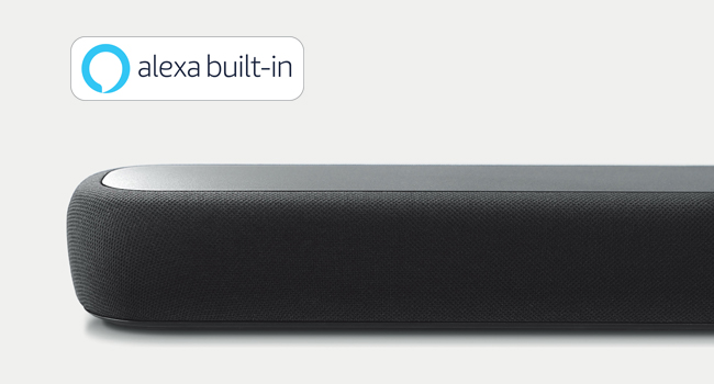 voice control, sound bar, Alexa built-in, home theater, Yamaha AV, home audio, smart home