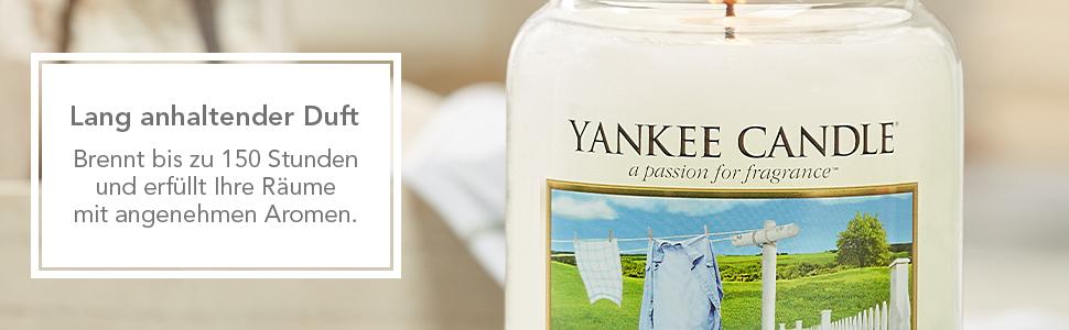 SCHLUSSVERKAUF Yankee Candle EBONY /& OAK 623 gr.