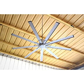 Big Air Icf72ups Industrial Ceiling Fan 6 Speed Indoor