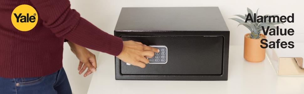Yale Laptop Value Safe 24L capacity