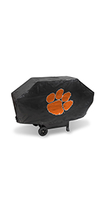 grill cover, bbq accessories, bbq, grill, grill accessories, NCAA, clemson tigers, clemson
