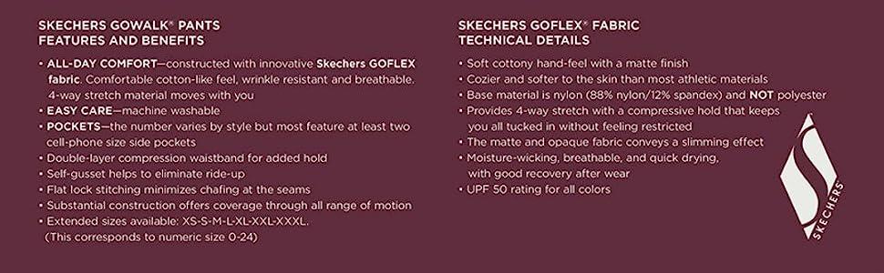 Skechers Go Walk Pants