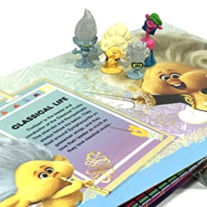 Trolls My Busy Books Figurines kids books