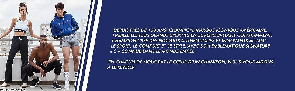 Champion; Champion men; Champion underwear men; sportswear; sports boxer boxer boxer men's boxer boxer shorts