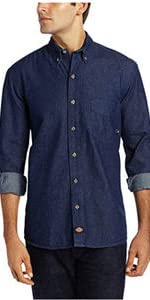 work short, denim shirt, cotton shirt, button up shirt, Carhartt, Wrangler, Levis, Volcom, 511