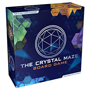 crystal maze game box