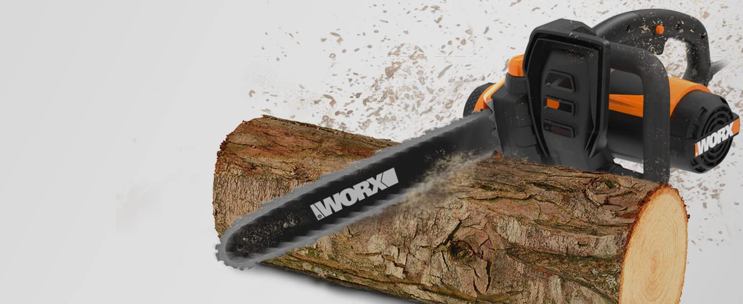electric chainsaw, 18 inch chainsaw, best electric chainsaw, corded chainsaw