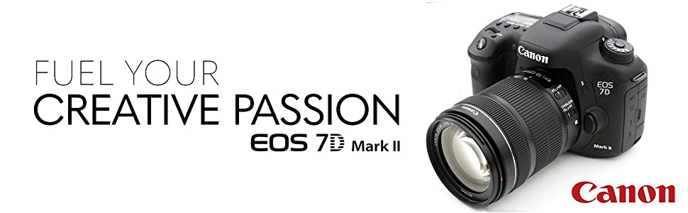 Amazon com : Canon EOS 7D Mark II DSLR Camera with 18-135mm