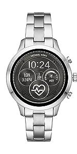 Amazon.com: Michael Kors Access Womens Sofie Heart Rate ...