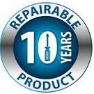 10 Years repairable