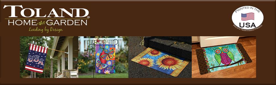 toland;toland home garden;house flag;28 x 40 flag;decorative;party decor;home decor