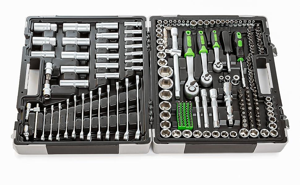 T-LoVendo TLVBS0041 Maletin de herramientas 215 pcs: Amazon.es: Bricolaje y herramientas