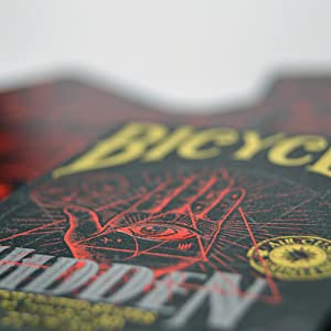 Bicycle- Hidden Baraja de Cartas de Poker Premium para coleccionsta, Color Multiple (1041160)
