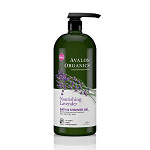 Avalon Organics Nourishing Lavender Bath & Shower Gel