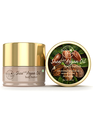 BODY CUPID SHEA WITH ARGAN OIL BODY BUTTER