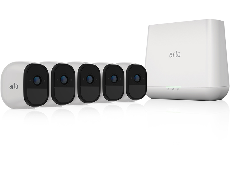 Arlo, Pro, Wire-Free, Security, System, Cameras, wireless