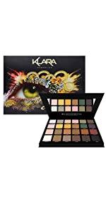 Klara Cosmetics Abu Dhabi 24 eyeshadow palette