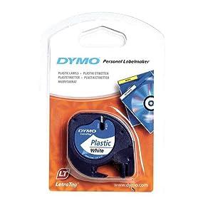 DYMO LetraTag-Kunststoffetikettenband-Rolle