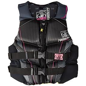 magnum, pfd, life vest, life jacket, surf, paddle, wake, boat, oynx, coleman