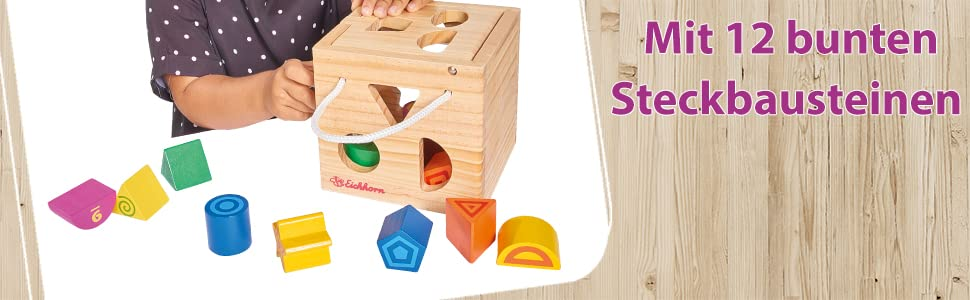 eichhorn,holzspielzeug,kinder,jungen,mädchen,steckwürfel,bausteine,motorik,lernspielzeug,geschenk