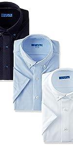 ワイシャツ 形態安定 半袖 クールビズ 形状記憶 仕事 ビジネス Yシャツ 半袖シャツ