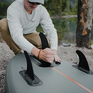 retrospec, ten toes, isup, sup, fins, stand up, paddleboard, paddle board