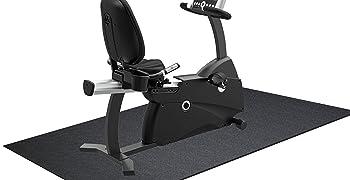 BalanceFrom High Density Treadmill Exercise Bike Equipment Mat