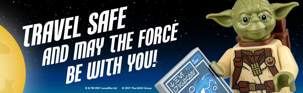 Travel safe and may the Force be with you!