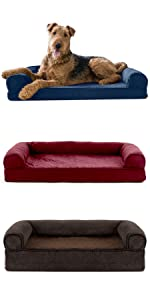 furhaven; product; comparison; chart; orthopedic; memory; sofa; bed